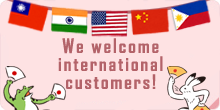 dear international customers
